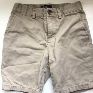 Boys polo shorts